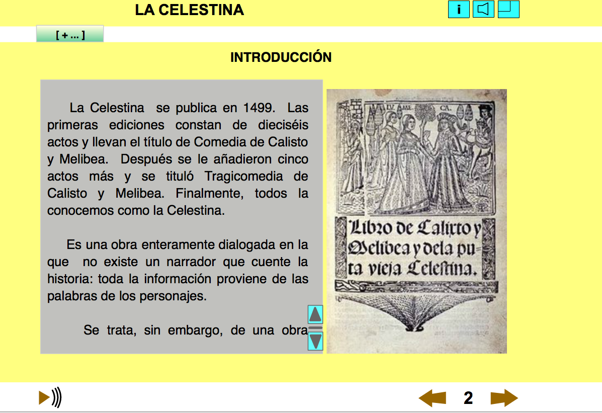 La celestina ii argumento personajes y temas de poetas for La celestina argumento