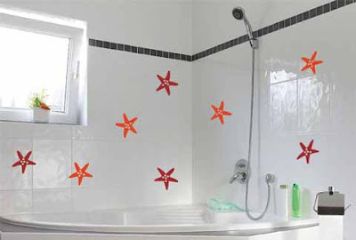 dekorasi lukisan dinding kamar mandi ~ gambar rumah idaman