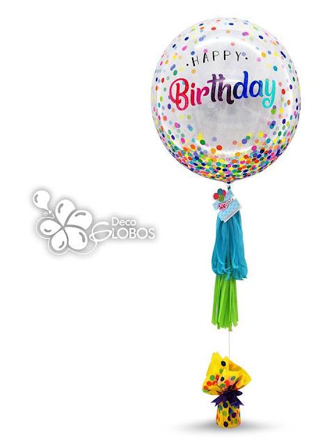 Birthday Design by Ben Escalante, of Deco Globos,