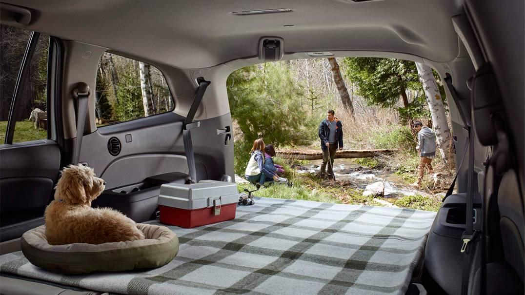 Bạn có thể chở cả gia đình và hành lý thoải mái đi bất cứ đâu