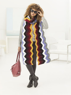 Large Knitted Scarf Pattern