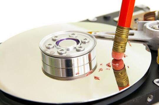 كيفية حذف بيانات القرص الصلب نهائيا