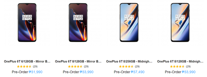 OnePlus 6T now available for pre-order at Argomall