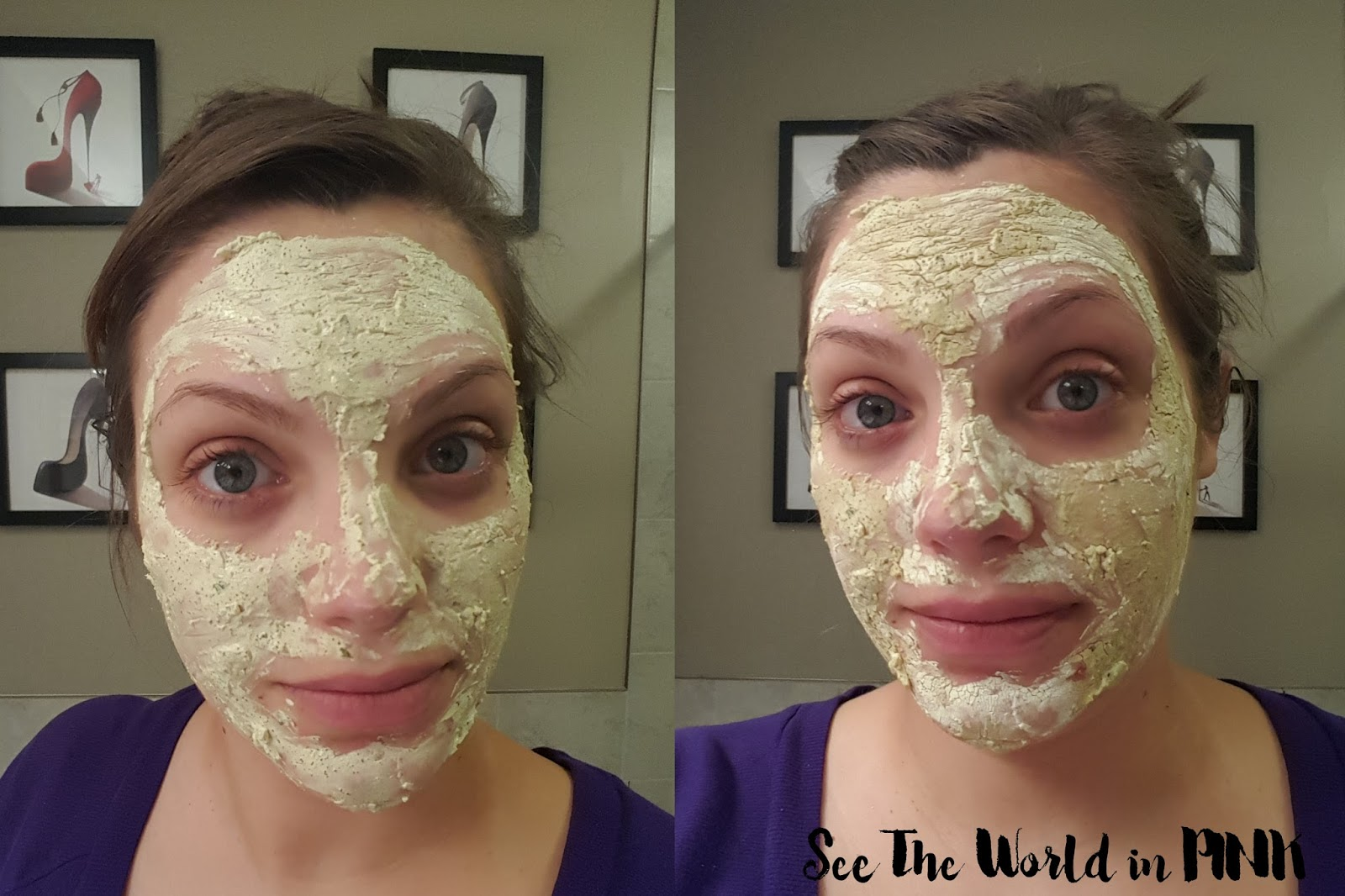 Mask Wednesday - Lush Brazened Honey Fresh Face Mask