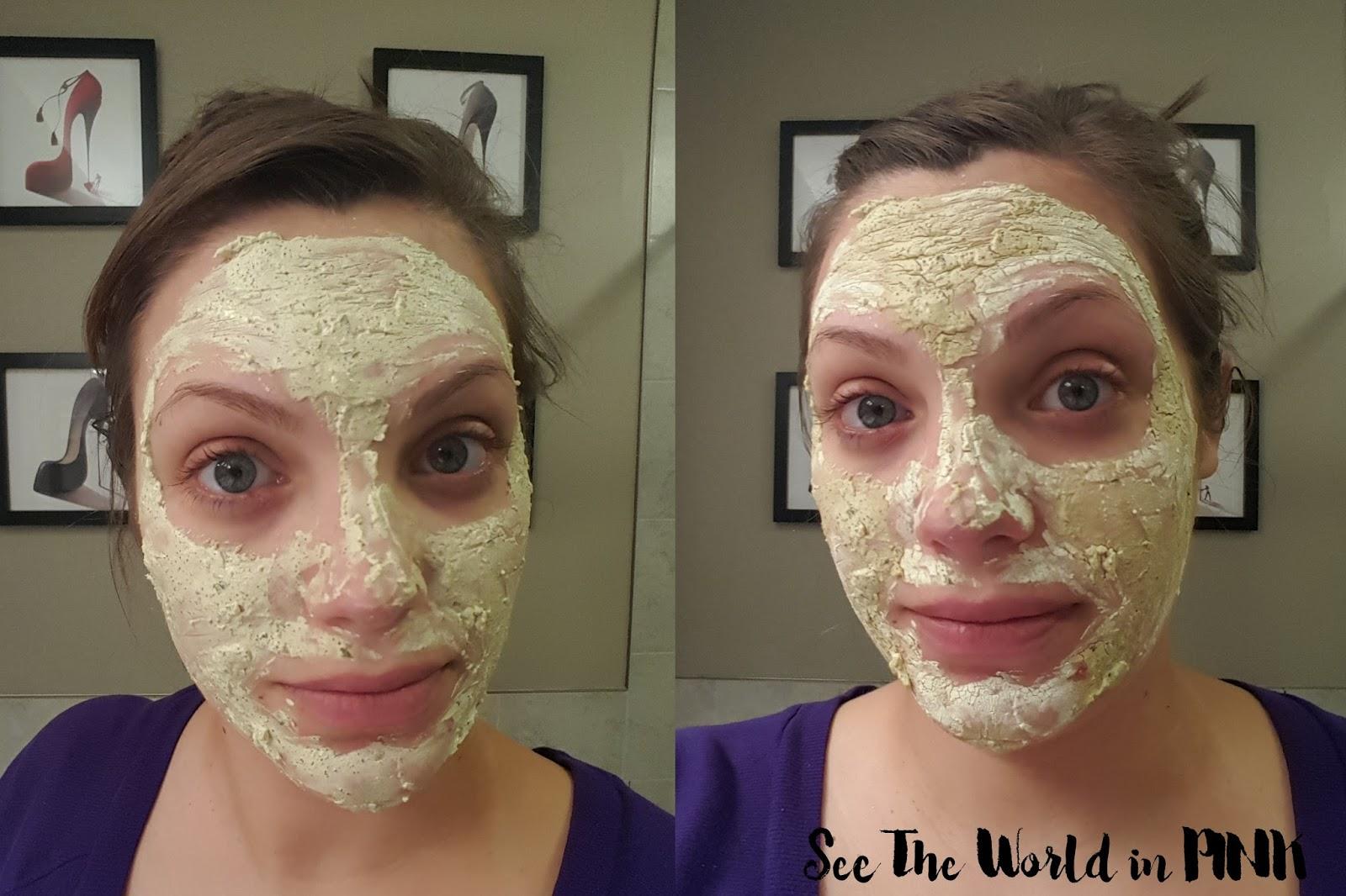 Mask Wednesday - Lush Brazened Honey Fresh Face Mask
