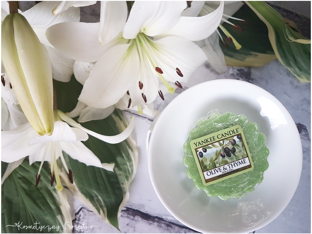 YANKEE CANDLE - OLIVE & THYME