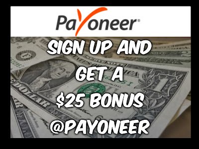 How to Get a Payoneer Debit Card and $25 Bonus