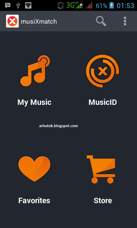 Karaokean di Android (Review musiXmatch)