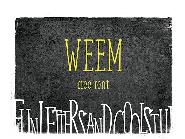 Download Weem Serif Handwritting Font Free