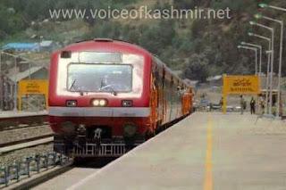 Latest train timings voice of kashmir