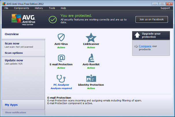 AVG Free Edition 2013.0.2667 (32-bit) - ETRIN WILDCAT