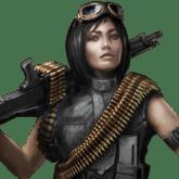 Machine Gunner / Penembak Senapan Mesin