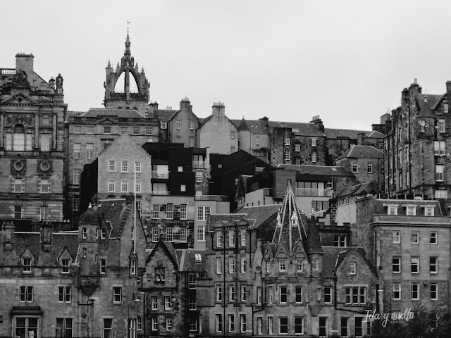 Royal Mile desde Princes