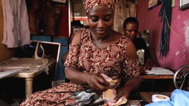 Nigeria and South Africa both come out of recession