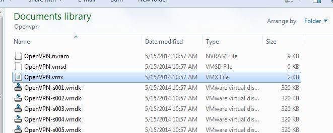 How to use a VHD file in VMWare