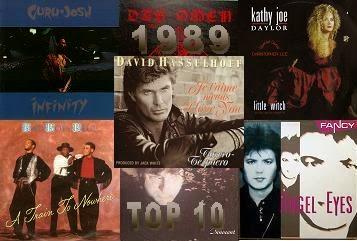 1989 Top 10 zene