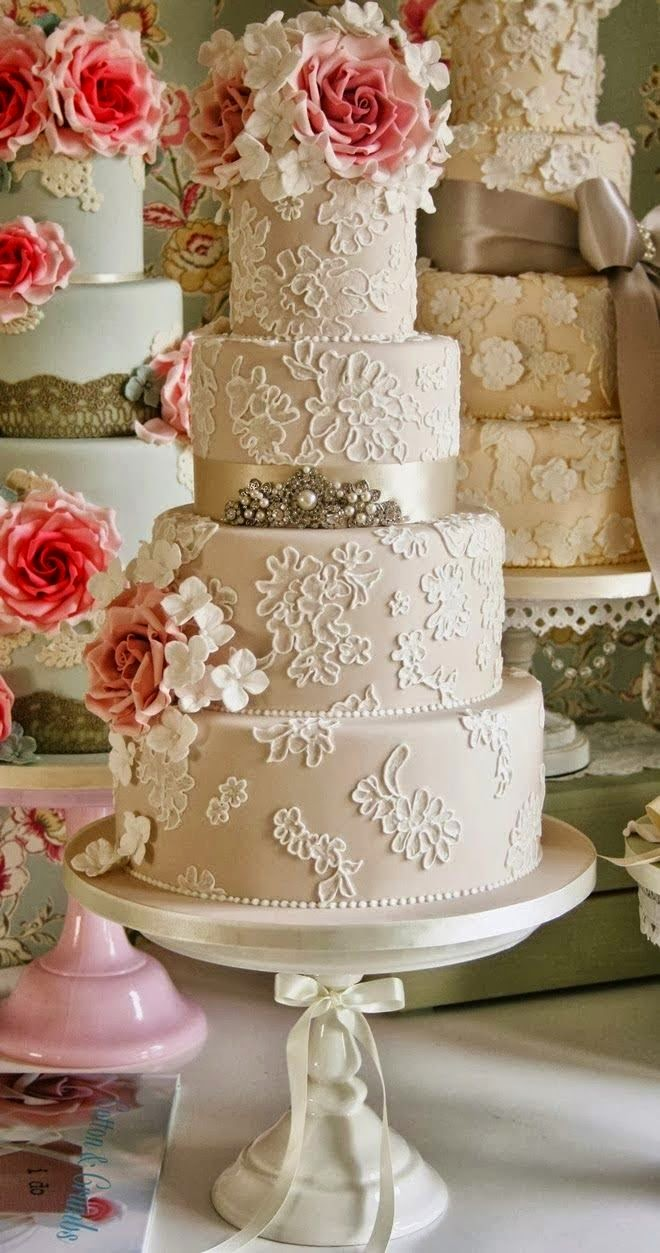 vintage inspired wedding cakes tort weselny 21602