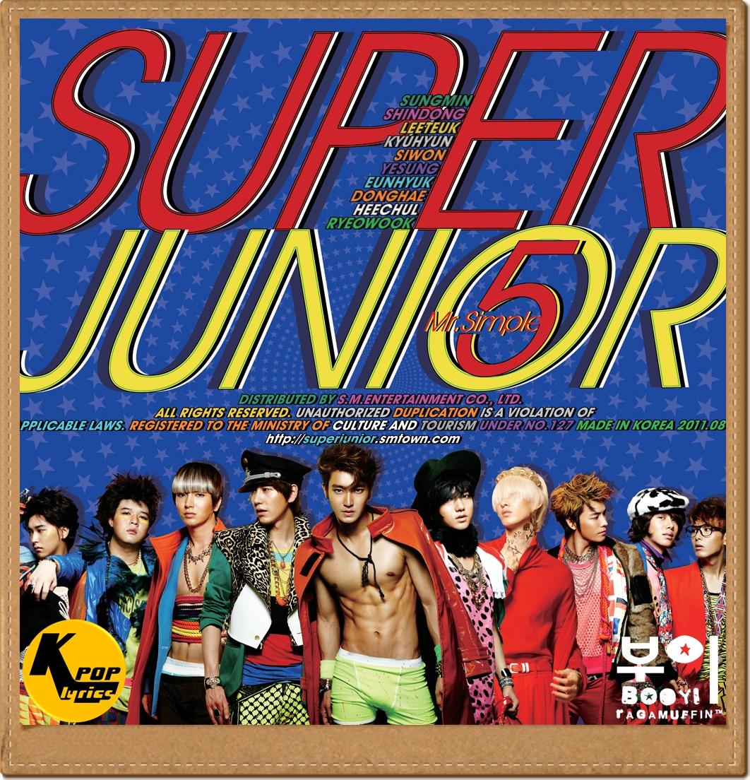 hollywood coming: White Christmas Lyrics - Super Junior - Album Mr ...