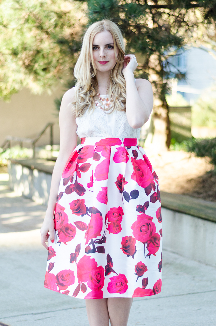 Pretty Pink Roses | Vancouver Beauty and Style Blog