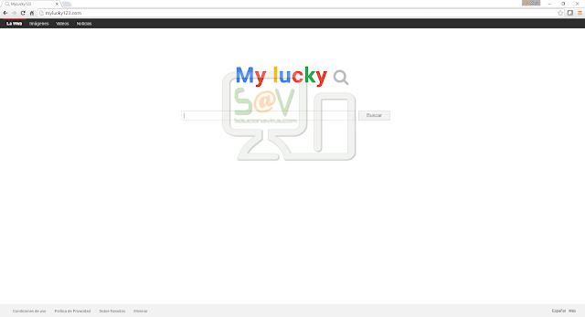 MyLucky123.com (Hijacker)