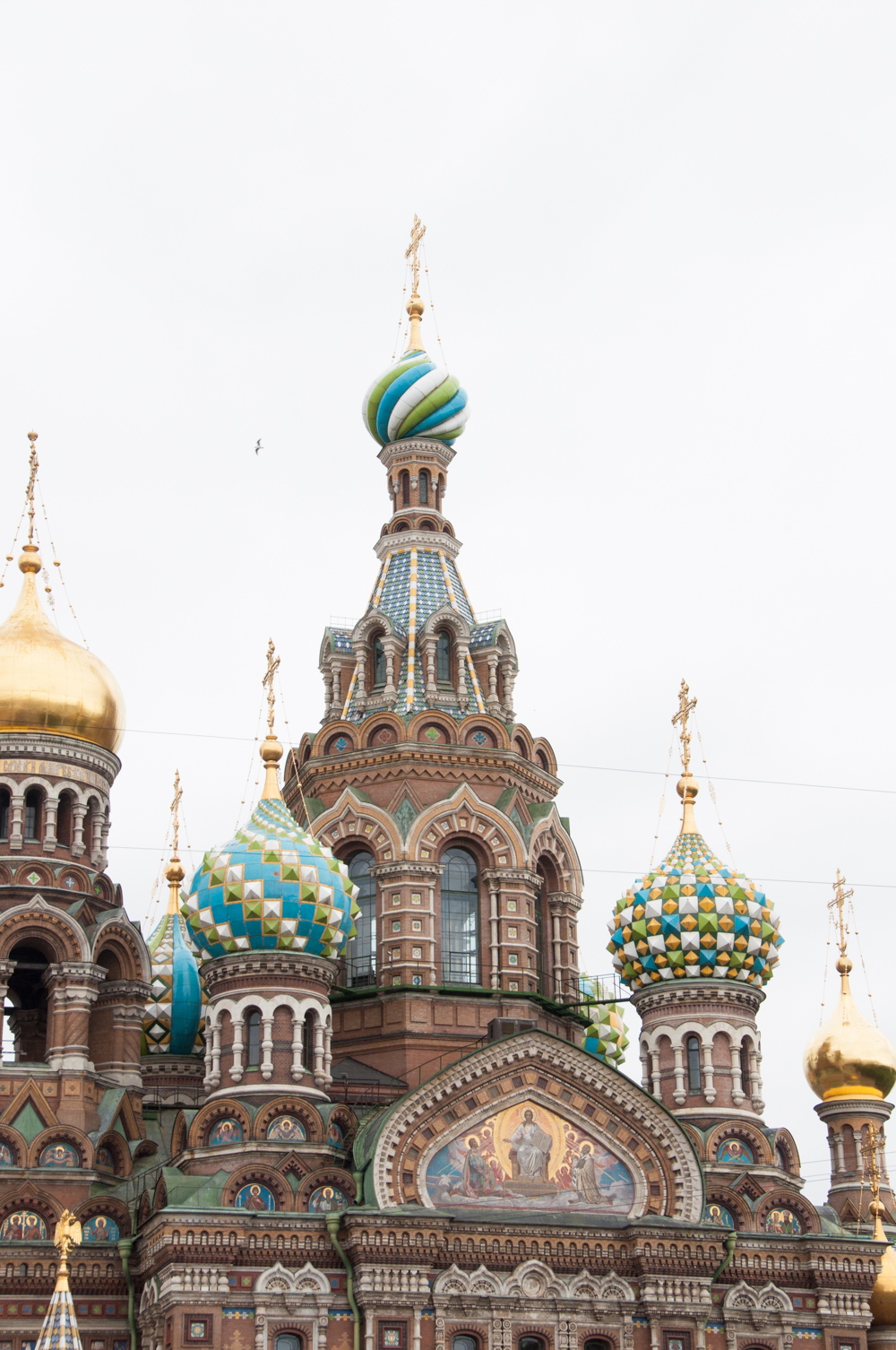 Church of the Savior on Spilled Blood in Saint Petersburg, Russia
