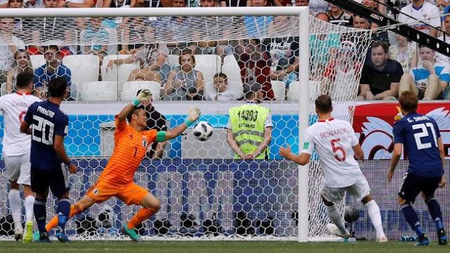 Piala Dunia 2018: Dikalahkan Polandia, Jepang Tetap Lolos ke 16 Besar