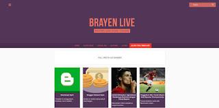 Brayen Live Blogger Template