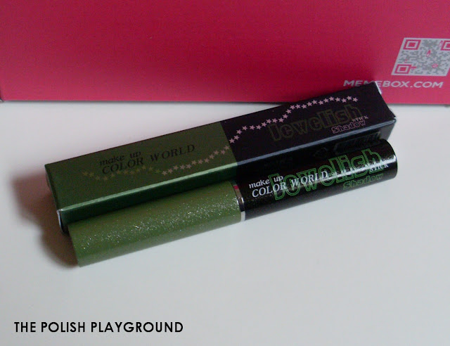 Memebox Special #43 K-Style 3 Unboxing - Color World Jewelish Stick Shadow in 05 Twinkle Green