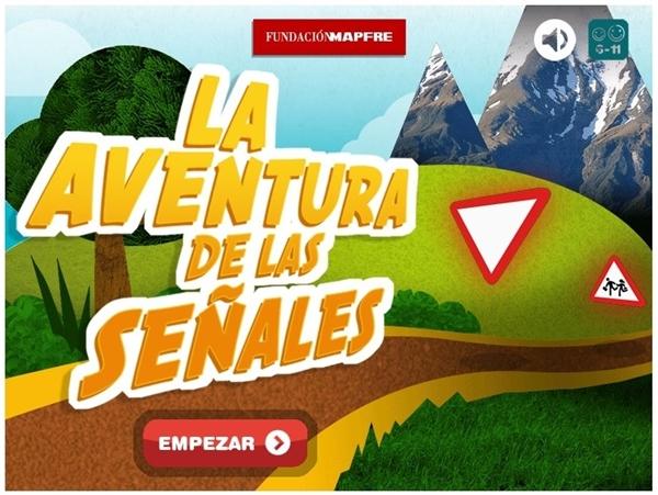 """""""La aventura de las señales"""" (Educación Vial de 3º y 4º de Primaria)"""