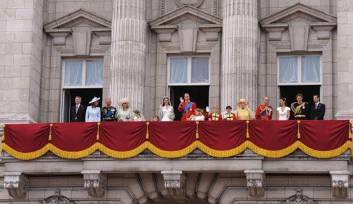Ana Maria S Royal Perspective Buckingham Palace Balcony