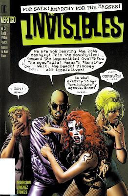 DC Comics - VERTIGO - RW Lion - King Mob - Jack Frost - Dane McGowan - Round Robin - Lord Fanny