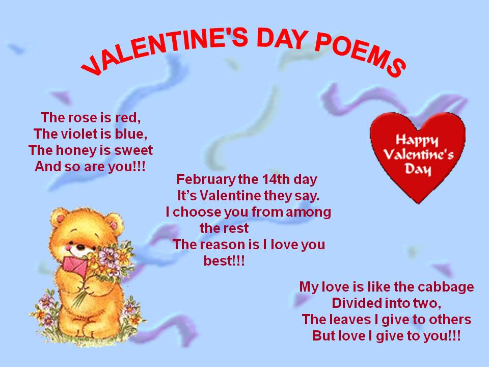 valentine's poems - photo #2