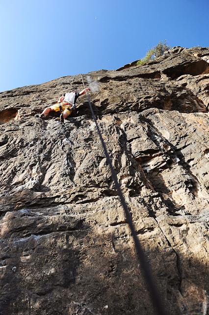 Best of Oman: Hadash climbing