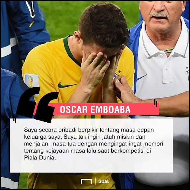Uang Banyak, Oscar Tak Pedulikan Piala Dunia