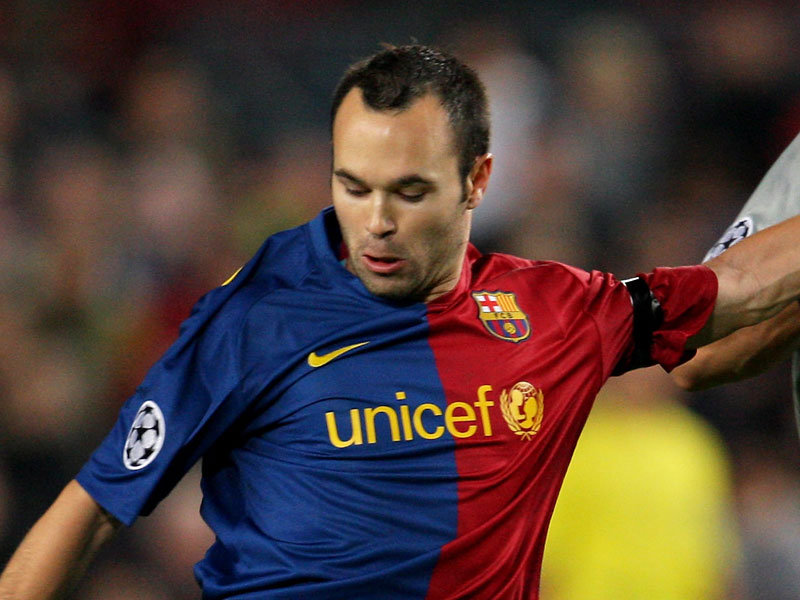 Soccer Players: Top Football Players: Andrés Iniesta