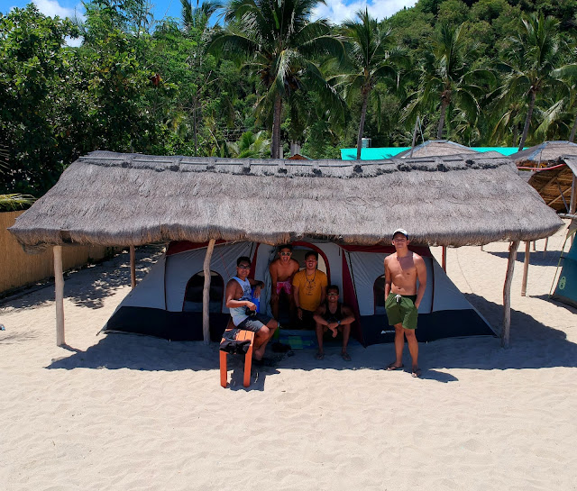 Super Nova Tent can fit 8 people Sand And Stars Dipaculao Aurora