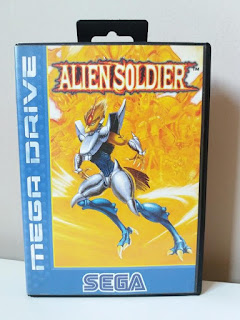 alien soldier treasure megadrive