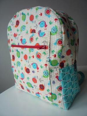 dětský batoh šitý návod sewing