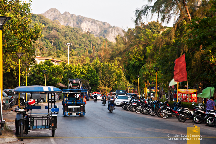 En Route to Holiday Inn Krabi