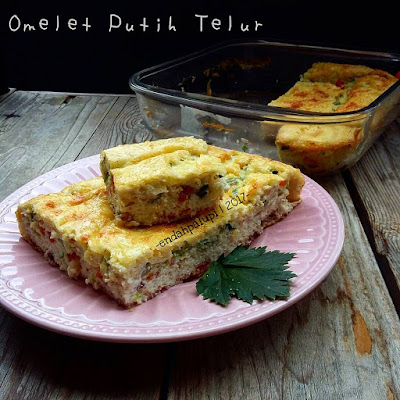 Resep Omelet Putih Telur Ala Resto Sederhana By @endahpalupid