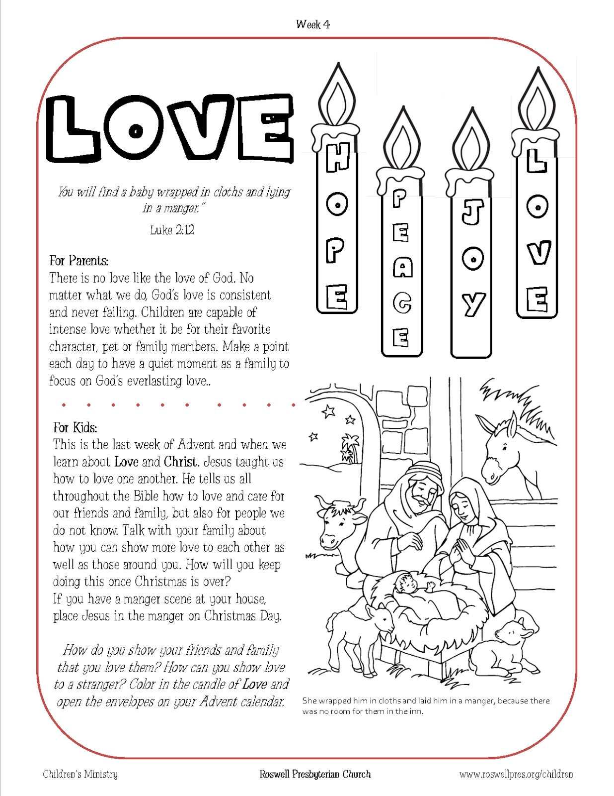 Children's Ministry: Family Advent Devotionals