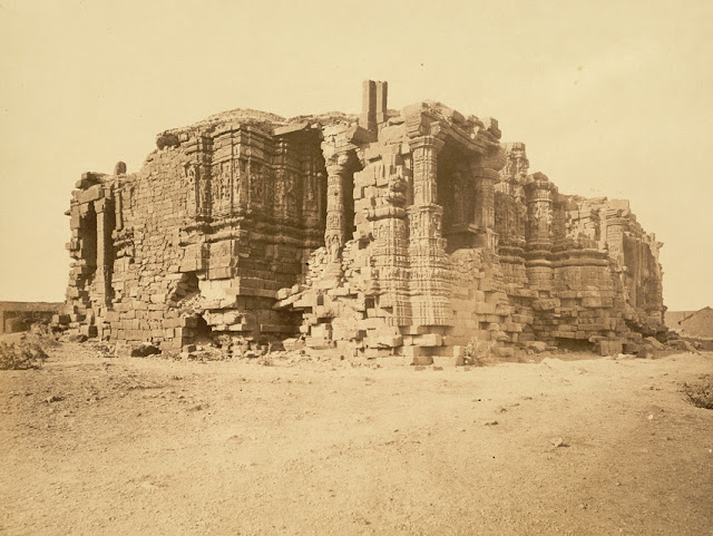 Somnath Temple Ruins