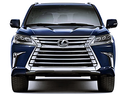 2017 Lexus LX 570 Price and Review