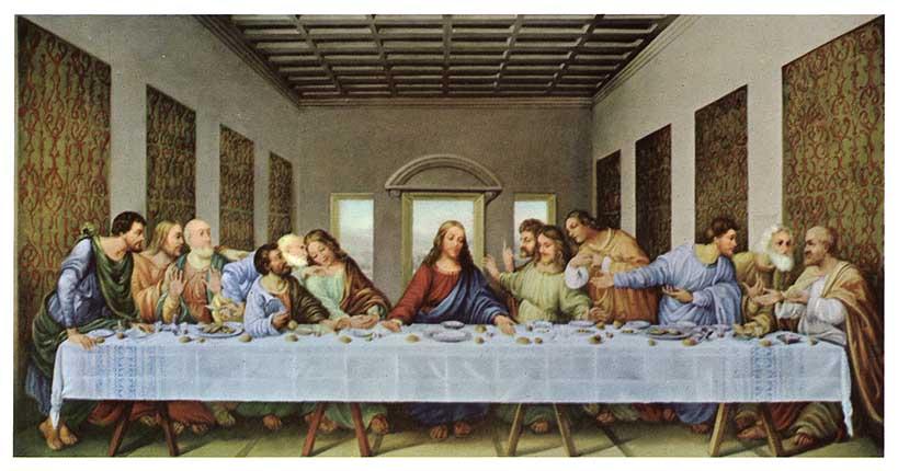 Maia Art History: Leonardo DaVinci--fresco--Last Supper Da Vinci Last Supper High Resolution