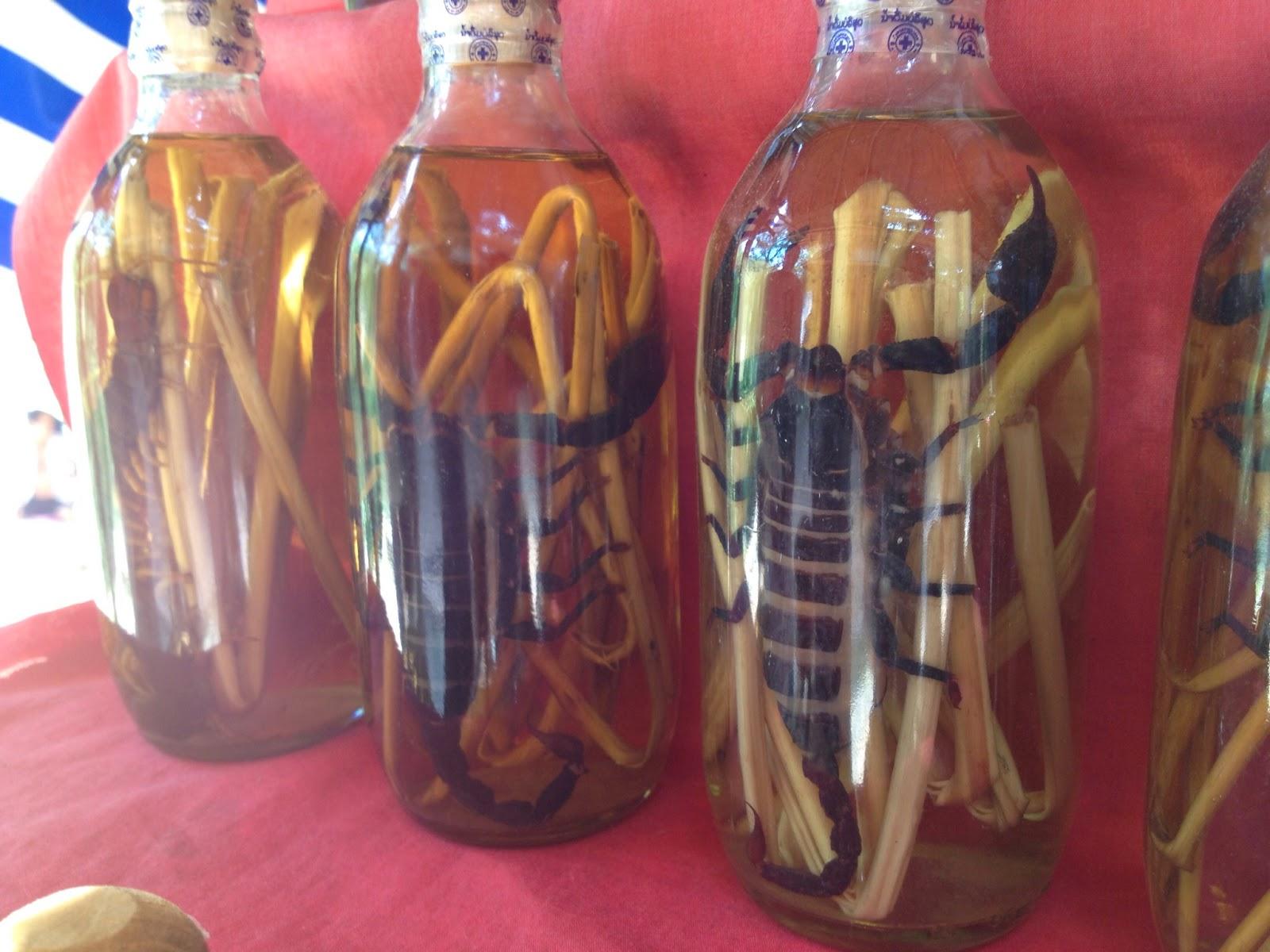 Luang Prabang - Scorpion wine