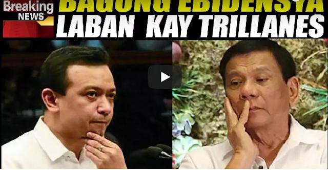 Mga Bagong Ebidensya Laban Kay Trillanes Hawak Na Ni Pres. Duterte