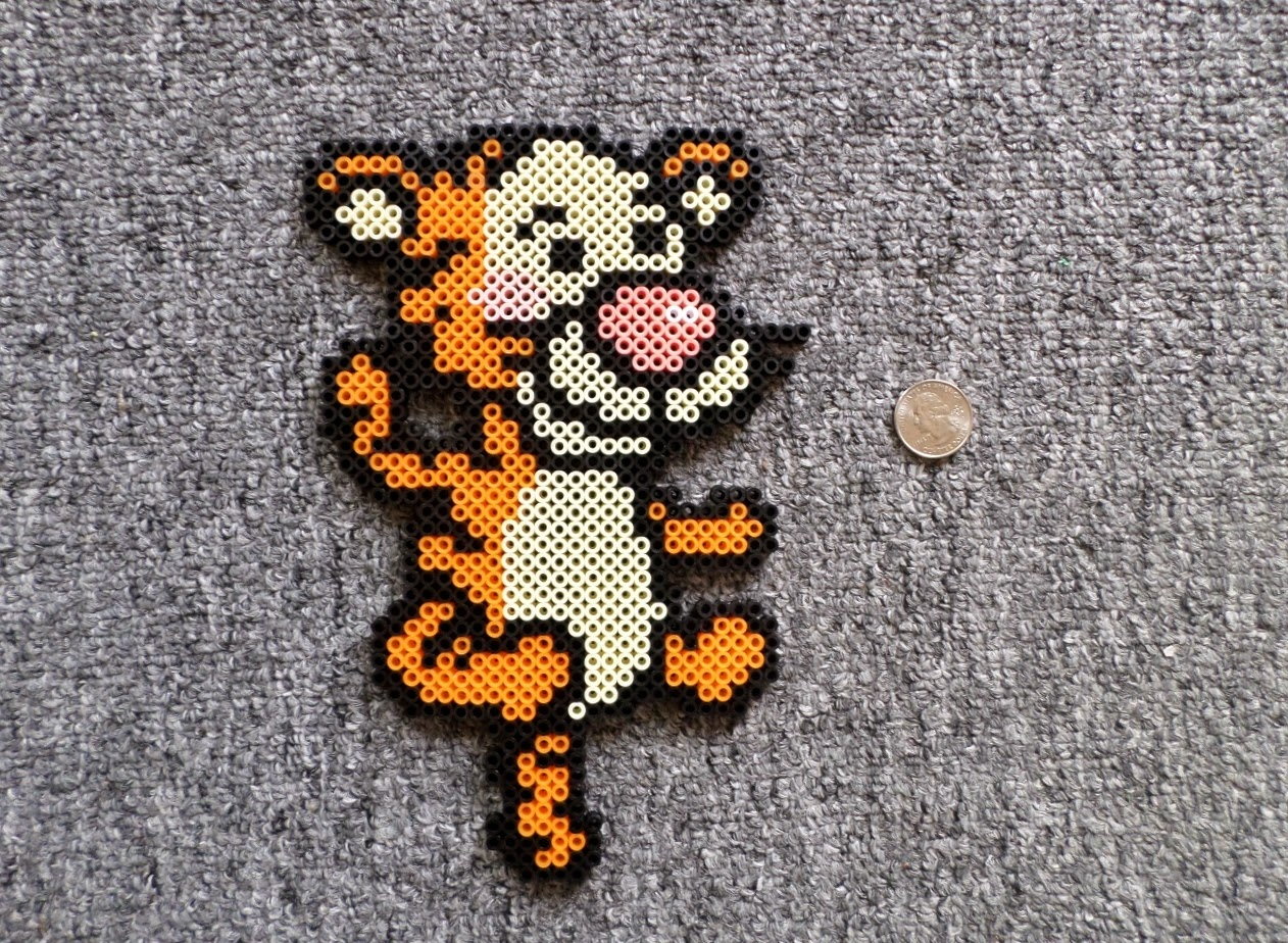 Pattern Perler Beads Tiger