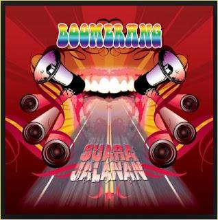 Lagu Boomerang Album Suara Jalanan Lengkap