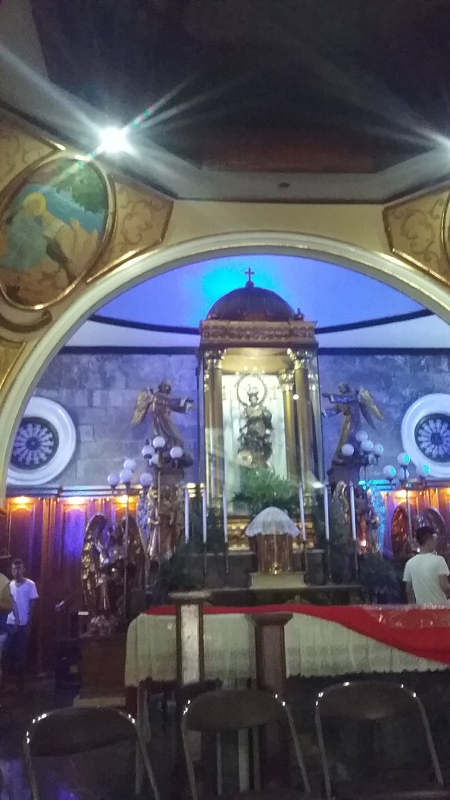 Holy thursday church visiting