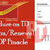 TD Extend or Extension in DOP Finacle